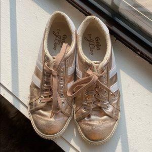 Gola (for JCrew) Rose Gold sneakers